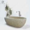 rustic granite bath tub